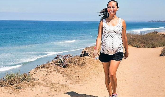 hamilelikte yürüyüş yapmak